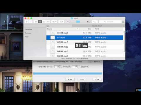 Split MP3 into Multiple Pieces by Time Free on Mac