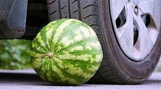 EXERIMENT Car VS Watermelon