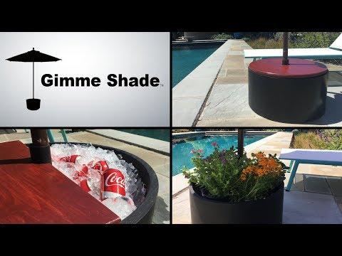 Gimme Shade: Self-Driving Umbrella Base