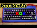 Membuat Keyboard Backlight   How To Make Backlight Keyboard   DIY