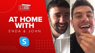 """Everyone can't wait to be back"", at home with John Egan & Enda Stevens 