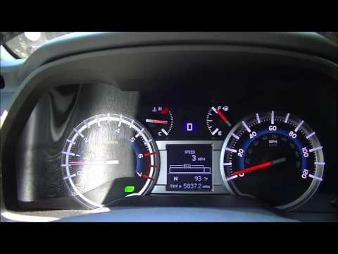 2016 Toyota 4Runner SR5 4x4 0-60 MPH