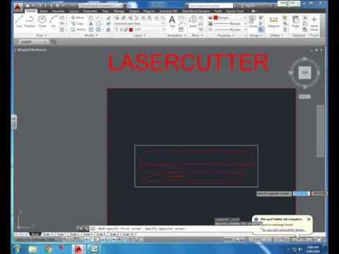 Laser Cutting from AutoCAD