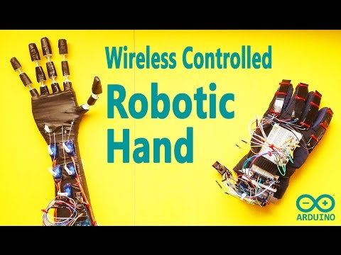 How to Make Make Low Cost Robot Hand with Wireless Control | Arduino DIY Project