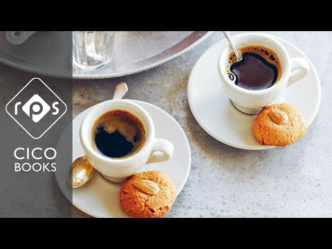 Amaretti Biscuits - How to bake simple coffee time treats at home