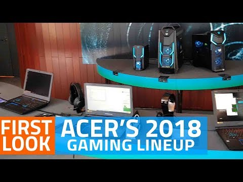 Acer's 2018 Gaming Lineup | Predator Helios 500, Helios 300 Special Edition, and More