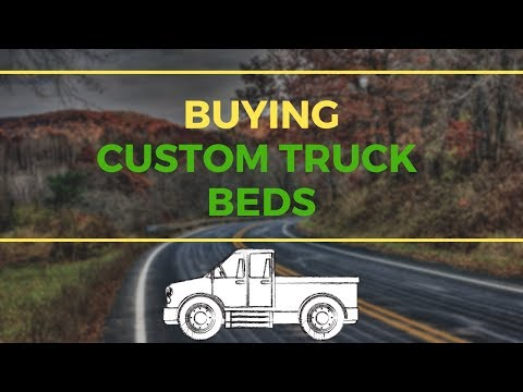 How To Find A Company To Build Your Custom Lawn Care Truck Beds So You Don't Need Trailers