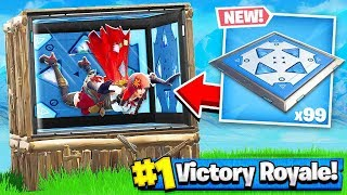 BOUNCE PAD + BOX FORT = BOUNCE ROOM!! Fortnite: Battle Royale