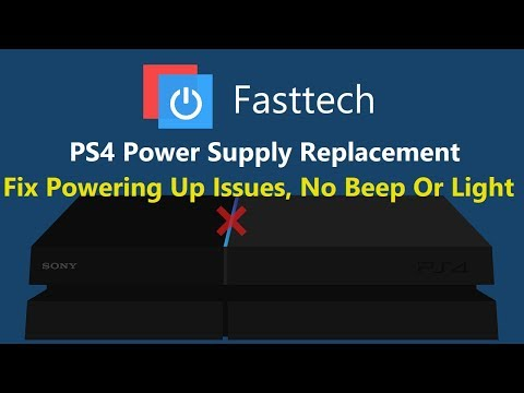 How to Fix a PS4 with No Power / PS4 Power Supply Replacement (CUH-1215A)