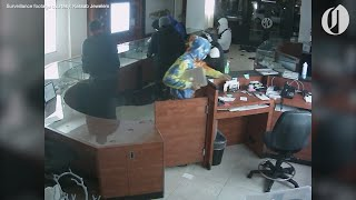Surveillance video shows looting at Kassab Jewelers during Portland riot
