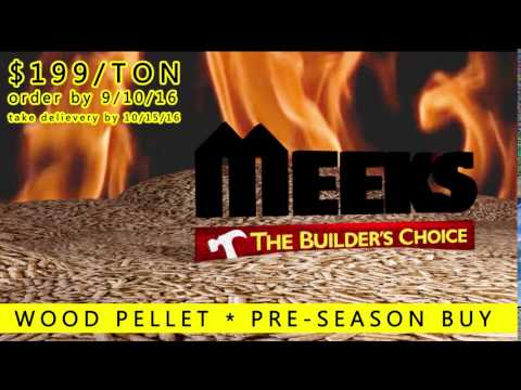 Wood Pellets PreSeason Buy 2016