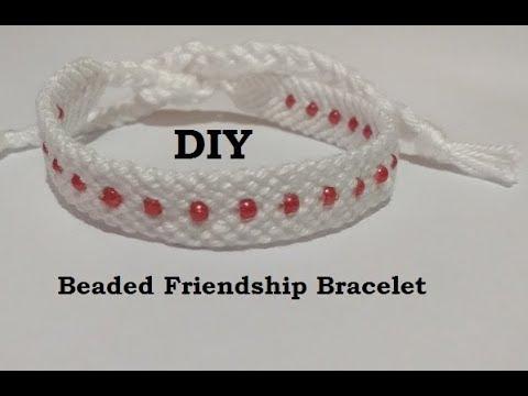 Adding Beads to Friendship Bracelets Tutorial