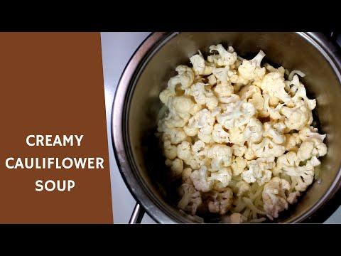 CREAMY CAULIFLOWER SOUP | IDcooking.com