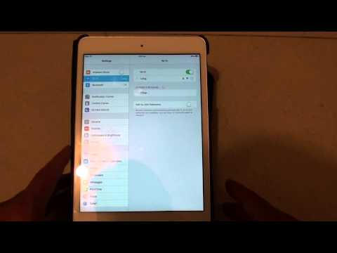 iPad Mini iOS 7: Fix Issues With Wi-Fi Connection (Re-entering Password on Each Connection)