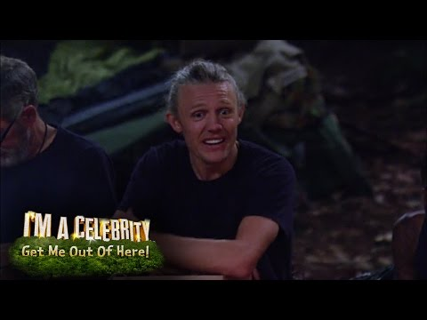 Jimmy Bullard Realises His Hair Wax Is Useless | I'm A Celebrity...Get Me Out Of Here!