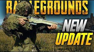 Battlegrounds: PLAYING THE NEW UPDATE  (Playerunknown