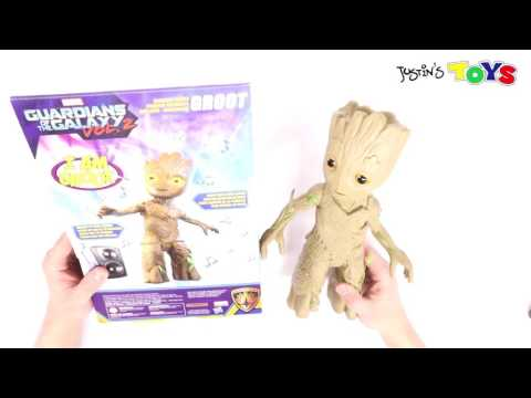 Dancing Baby Groot Hasbro Toy Review and First Look