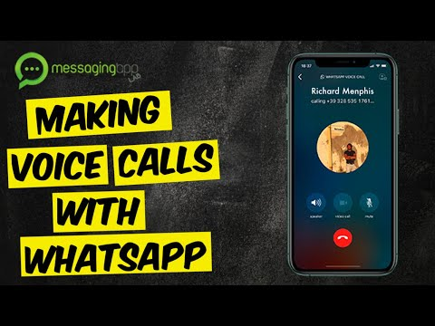 Making Voice Calls With WhatsApp