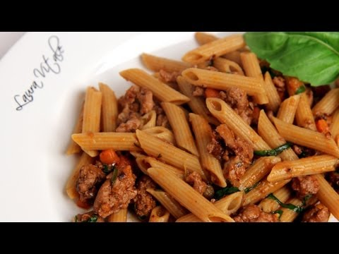 Turkey Ragu Recipe - Laura Vitale - Laura in the Kitchen Episode 298