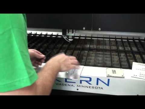 KERN Aluminum Laser Cut Holes