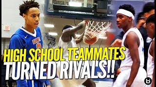 TEAMMATES TURNED RIVALS!! Mario Mckinney Goes Against Former Teammate in Basketball Rivalry Game!
