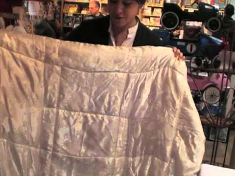 silk cushion/blanket 2 in 1