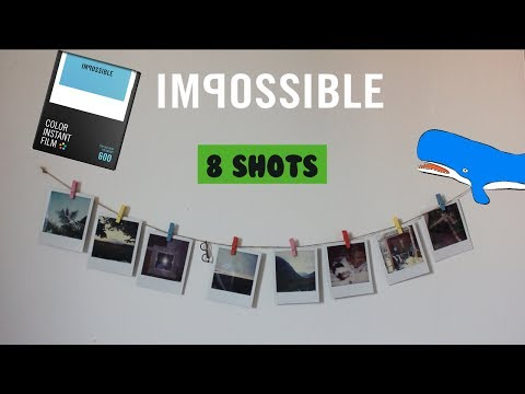 Impossible project 600 colour film