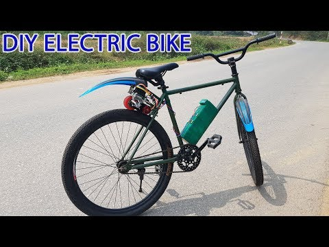 DIY Electric Bike At Home