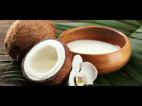 COCONUT MILK TREATMENT FOR LONG AND THICK HAIR