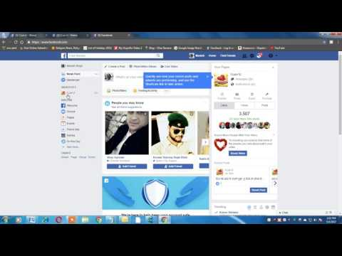 Change Facebook page category for page verification