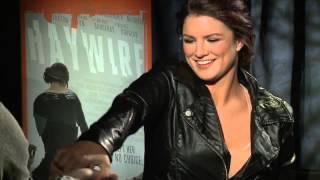 Thumb Wrestling Gina Carano