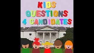 Kids Questions For Candidates // Peter Casey