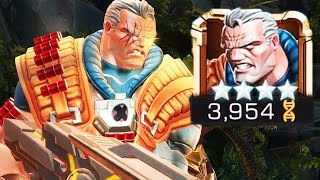 4 Star Cable Boss Battle | Marvel: Contest of Champions