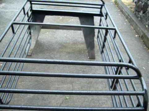 Johns Welding specializing in truck dog cages.