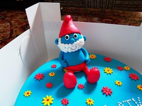 Smurf cake - Smerfowy tort