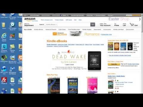How to Get Free Kindle Ebooks from Amazon