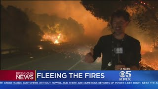 Scenes From Napa Sonoma Wildfire As Residents Scrambled To Safety