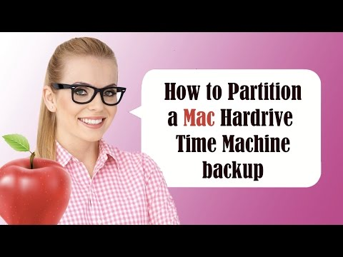 How to Partition a MAC OS X Yosemite Hardrive - For a time machine backup or 2nd OS