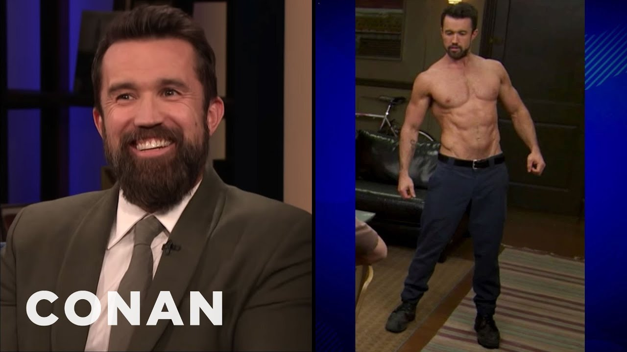 """Rob McElhenney Wanted To Look Like Brad Pitt In """"Fight Club"""" 