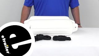 Review of Taylor Made Boat Accessories - Boat Fenders - 369310162P - etrailer.com