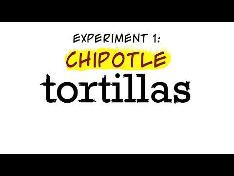 Chipotle Tortilla Recipe