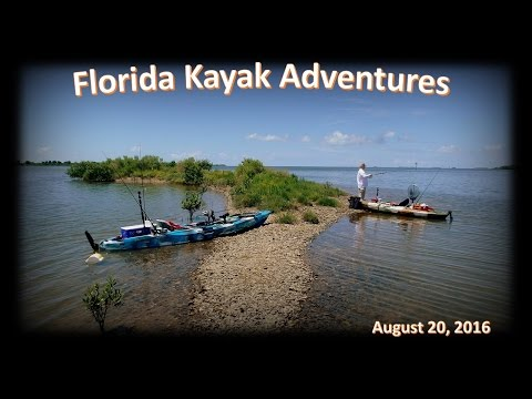 Kayak Fishing the Crystal River Power Plant