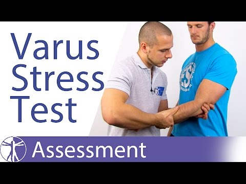 Elbow Varus Instability Stress Test⎟Lateral Collateral Ligament