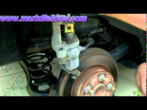 Back Brake Pad Replacment on 2006, Mazda 3