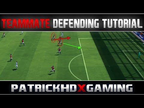 Fifa 14 | Teammate Defending Tutorial | very effective method - IN-DEPTH | by PatrickHDxGaming