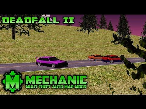 Race Track Map - Deadfall II