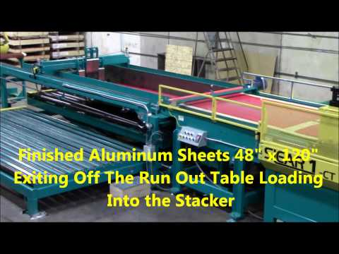 Wrisco Industries Inc  Producing Painted Aluminum Sheet From the Mestek Iowa Slear 1 CTL