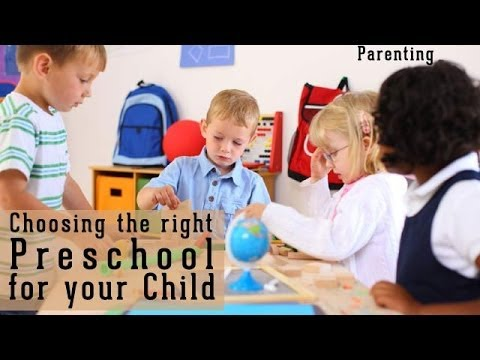 How to choose the right preschool  for your child | Ventuno The Raising - Parenting Show