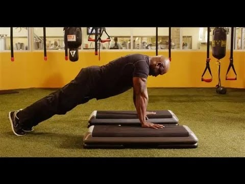 What Does a Deep Push-Up Do for the Back Muscles? : Exercise Techniques