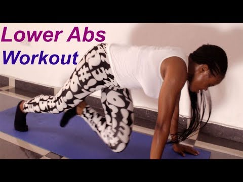 5 Minutes lower abs workout at home (best lower ab exercises to Burn Fat in 2018)